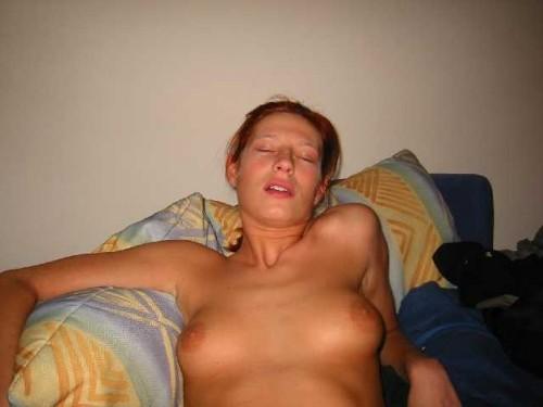 un orgasme pendant un cuni